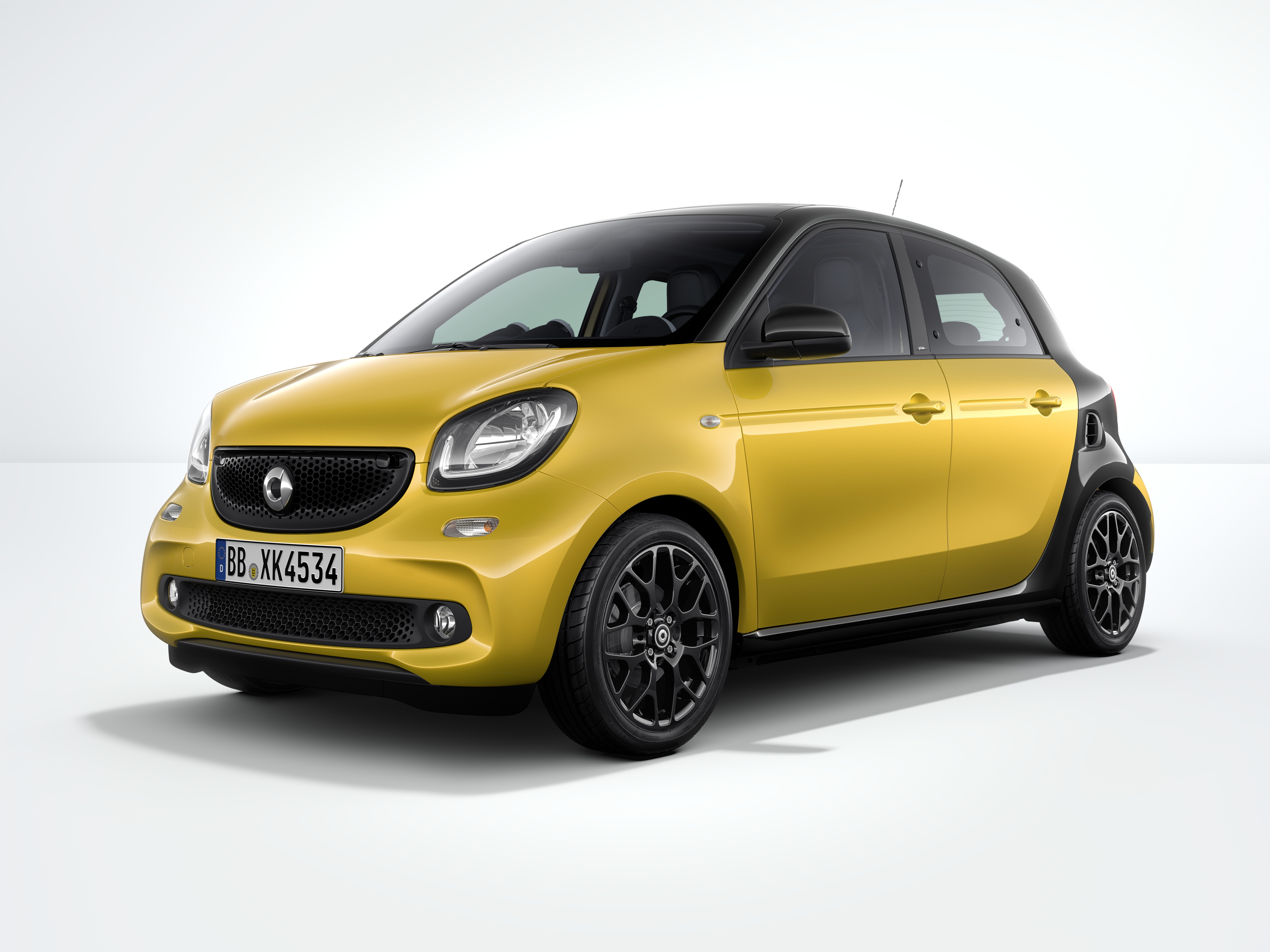 smart forfour launch edition - עיצוב